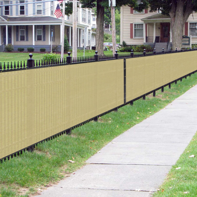 Bouya Beige Privacy Fence Screen 4 X 50 Heavy Duty For