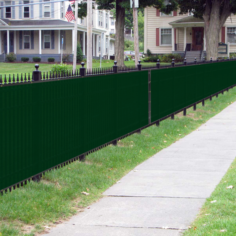 BOUYA Green Privacy Fence Screen 4′ x 50′ Heavy Duty for ...